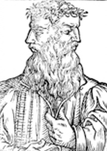 illustration of Janus by Heinricus Pantaleon; image courtesy of the Digital Image Archive, Pitts Theology Library, Candler School of Theology, Emory University