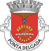 coat of arms for Ponta Delgada, Portugal