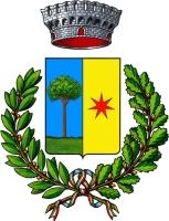 coat of arms for Borgofranco d'Ivrea, Italy