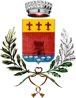 coat of arms for Borgone Susa, Italy