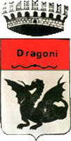 coat of arms for Dragoni, Italy