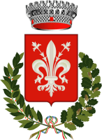 coat of arms for Pian di Scò, Arezzo, Italy