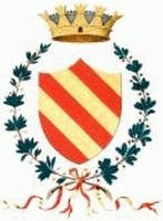 coat of arms for Villafranca Piemonte, Italy