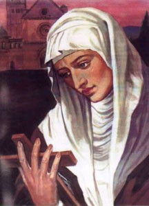 Saint Agnes of Assisi