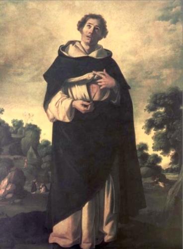 painting of 'Blessed Henry Suso', c.1636-1638, by Francisco de Zurbarán, oil on canvas, 209x154 cm, Museo de Bellas Artes, Seville, Spain