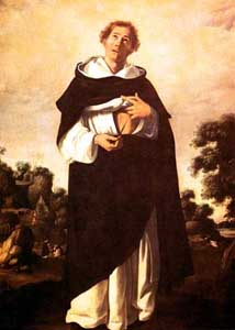 painting of 'Blessed Henry Suso', c.1636-1638, by Francisco de Zurbarán, oil on canvas, 209x154 cm, Museo de Bellas Artes, Seville, Spain