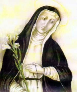 illustration of Blessed Jane of Orvieto, date and artist unknown; swiped from Santi e Beati