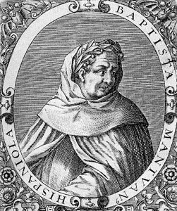 book frontispiece illustration of Blessed John Baptist Spagnulo, artist unknown