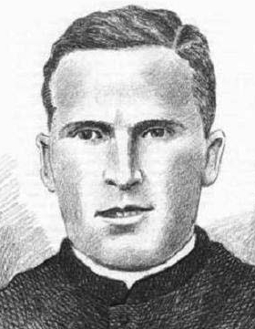 illustration of Blessed Juan Martorell Soria, date and artist unknown; swiped from Santi e Beati