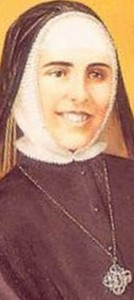 detail from the Vatican beatification portrait of Blessed María de Los Ángeles Ginard Martí