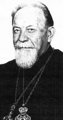 photograph of Blessed Vasyl Vsevolod Velychkovskyi, date, location and photographer unknown