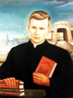 portrait of Blessed Wladyslaw Bladzinski, date and artist unknown; swiped from Santi e Beati