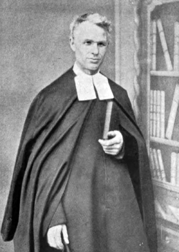 photograph of an unidentified Brother of the Christian Schools from the book Monasteries and Religious Houses of Great Britain and Ireland, 1903, photographer unknown