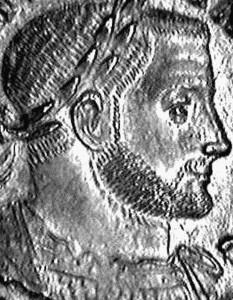 Emperor Valerius Maximianus Galerius