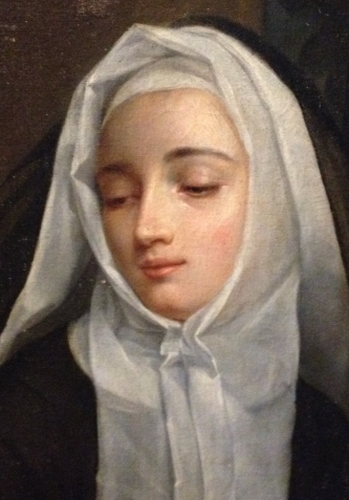19th century portrait of Mother Élisabeth-Théodelinde Bourcin-Dubouché, artist unknown