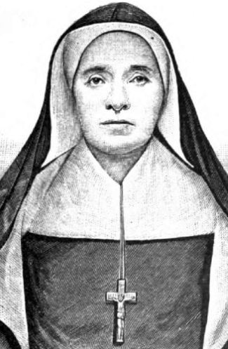 illustration of Mother Theodore, Illustrated Catholic Family Annual, 1881, artist unknown