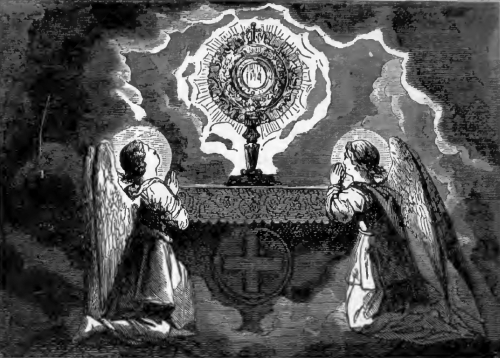 Pictorial Lives of the Saints illustration for Quinquagesima Sunday