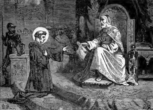 Pictorial Lives of the Saints illustration for Saint Cajetan