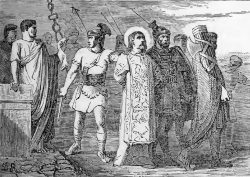 Pictorial Lives of the Saints illustration for Saint Cyriacus and His Companions, Martyrs
