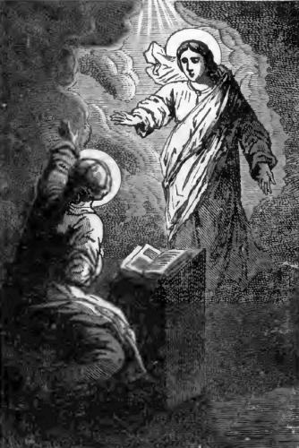 Pictorial Lives of the Saints illustration for Saints Thrasilla and Emiliana, Virgins