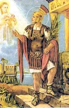 sveti Bazilid Aleksandrijski - vojak in mučenec