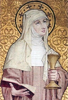 Saint Berlindis of Meerbeke