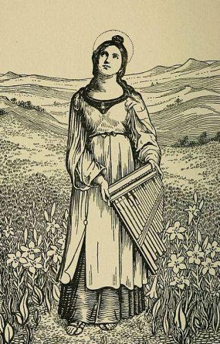 Saint Caecilia