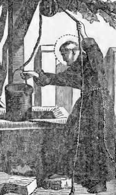 Pictorial Lives of the Saints illustration for Saint John the Silent
