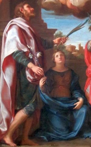 Saint Julian and Saint Basilissa