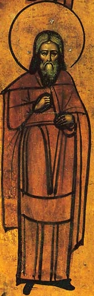 19th century icon of Saint Shamuna of Edessa; swiped from Wikimedia Commons