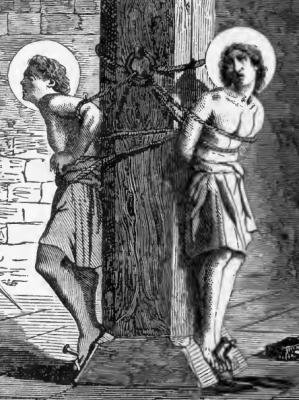 Rome Chrétienne et ses monuments - EUGENE DE LA GOURNERIE - 1867 Img-Saints-Marcus-and-Marcellianus-Martyrs