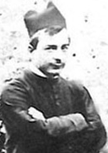 Venerable Carlo Angelo Sonzini at about the time of his ordination