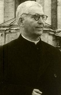 photograph of Venerable Joaquim Alves Brás in Rome, Italy, date unknown, photographer unknown; swiped from Wikimedia Commons