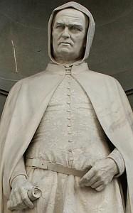 statue of Giotto di Bondone, date unknown, artist unknown; swiped off the Wikipedia web site