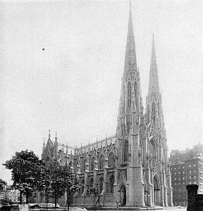 Saint Patrick's Cathedral, archdiocese of New York, date unknown, photographer unknown; from the New Catholic Dictionary