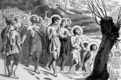 Pictorial Lives of the Saints image for the Forty Martyrs of Sebaste