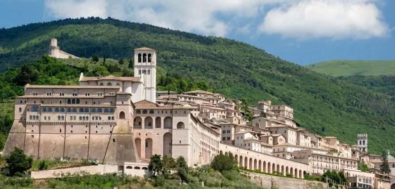 Basilica, Assisi, Italy