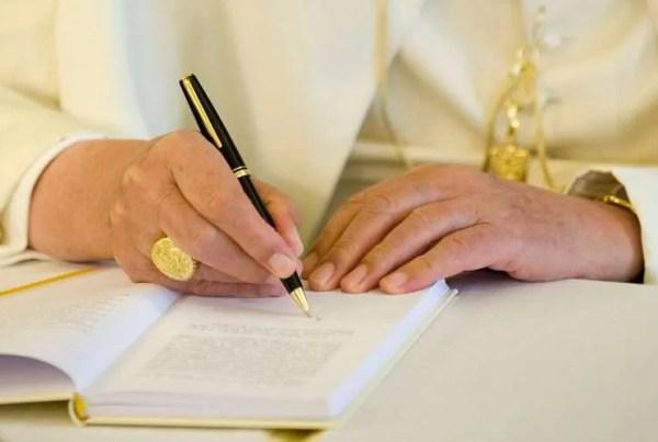 Benedict XVI defends resignation and title 'pope emeritus' in private letters