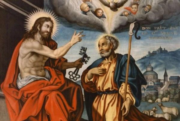 Origins of Peter as Pope