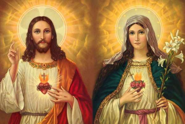 Thirty Days Prayer to the Blessed Virgin Mary, in Honour of the Sacred Heart of Jesus Christ
