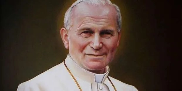 AND TODAY WE CELEBRATE... Saint of the Day: Pope St. John Paul II (THURSDAY, OCTOBER 22)