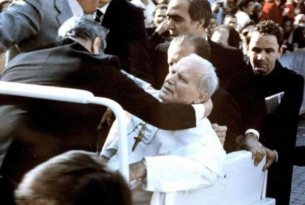 Relic of St John Paul II from when he was shot plus miraculous testimonies