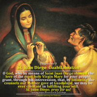 December 9: Saint Juan Diego Cuahtlatoatzin