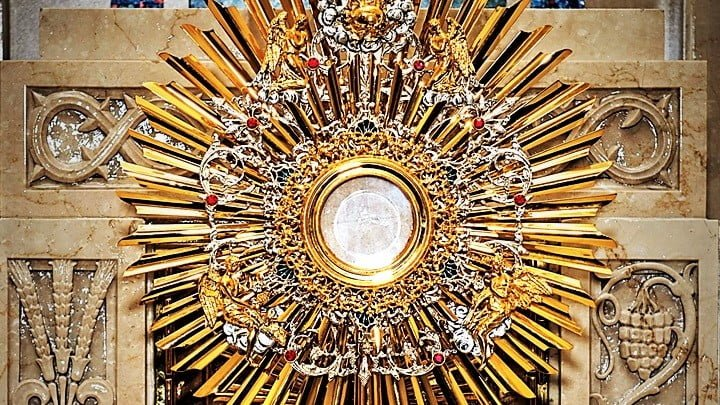 Homily Reflection 19th Sunday in Ordinary Time Year B  JESUS' AMAZING LOVE IN THE HOLY EUCHARIST. LIVE IN LOVE!