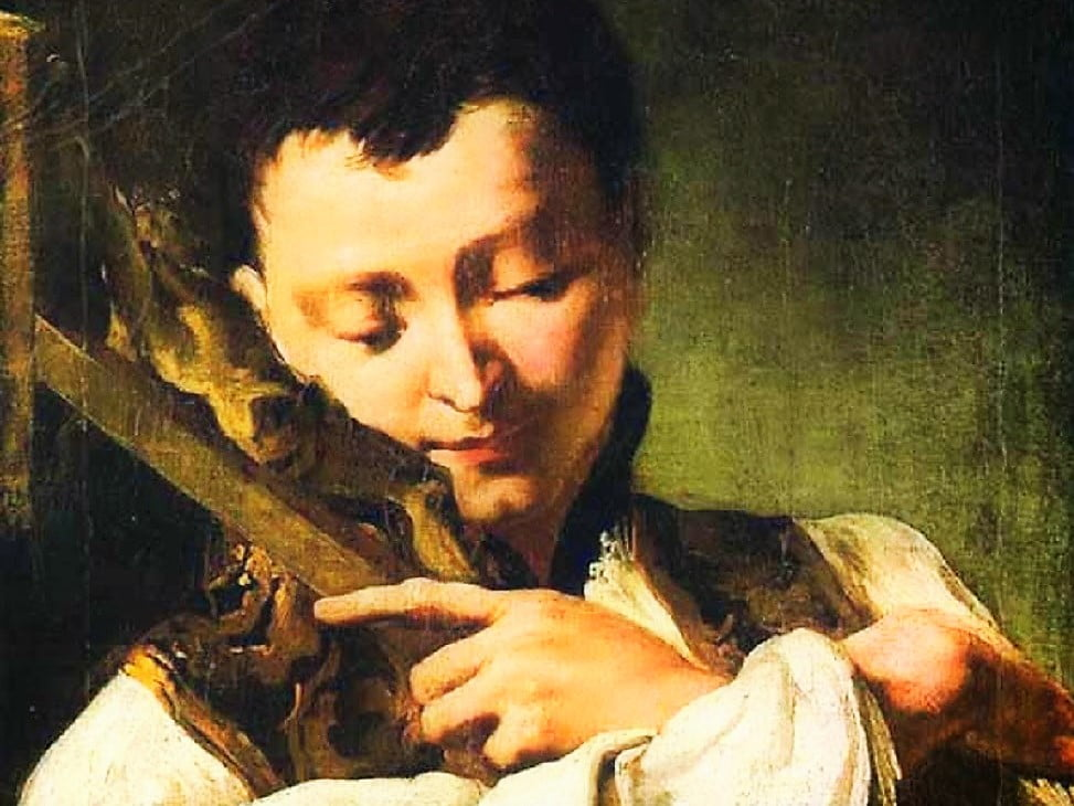 June 21: SAINT ALOYSIUS GONZAGA. Short bio and a letter to his mother.
