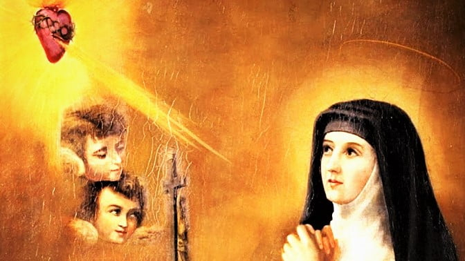 """Oct. 16: ST. MARGARET MARY ALACOQUE, VIRGIN. """"Know the love of Christ."""""""