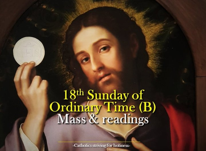 18th sunday in ordinary time b