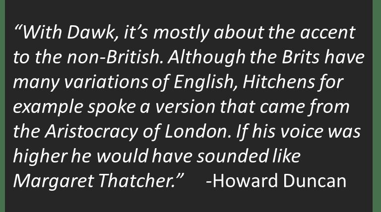 is atheist richard dawkins being responsible in his statements