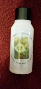 holy water from Knock