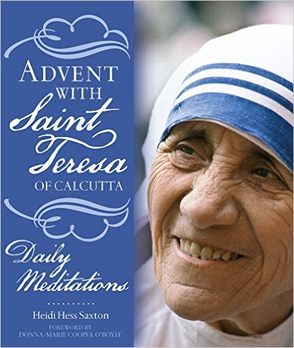 Advent with Saint Teresa of Calcutta Book Cover